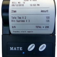 bluetooth thermal printer for android